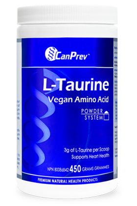 CanPrev L-Taurine Vegan Amino Acid - Body Energy Club