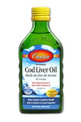 Carlson Cod Liver Oil Lemon