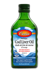 Carlson Cod Liver Oil Natural label facts ingredients