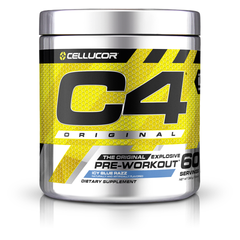 Cellucor C4 Extreme Blue Raspberry- 60 Servings