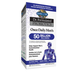 Garden Of Life Once Daily Men's 50 Billion Shelf Stable | Probiotics | Garden Of Life