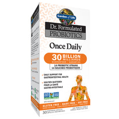 Garden Of Life Dr. Formulated Probiotics Once Daily 30 Billion CFU - Body Energy Club