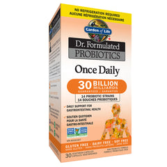 Garden Of Life Dr. Formulated Probiotics Once Daily 30 Billion CFU Shelf Stable - Body Energy Club