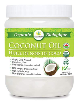 Ecoideas Raw Organic Coconut Oil