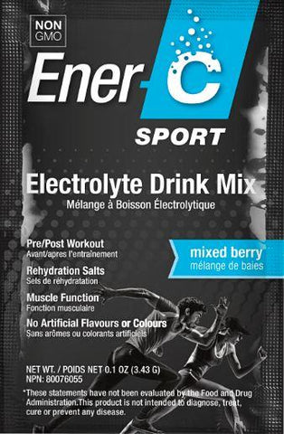 Ener-C Sport Electrolyte Drink Mixed Berry - Body Energy Club