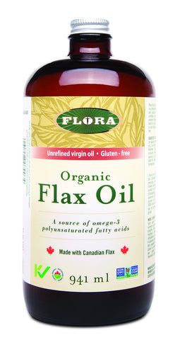 Flora Organic Flax Oil 946ml