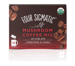 Four Sigmatic Coffee Mix With Cordyceps & Chaga 10 Pack