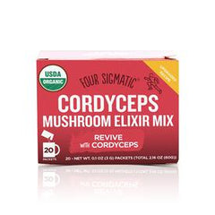 Four Sigmatic Cordyceps Mushroom Elixir Mix 20 Packs