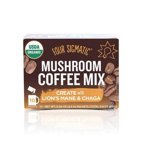 Four Sigmatic Mushroom Coffee Mix With Lion's Mane & Chaga 10 Pack
