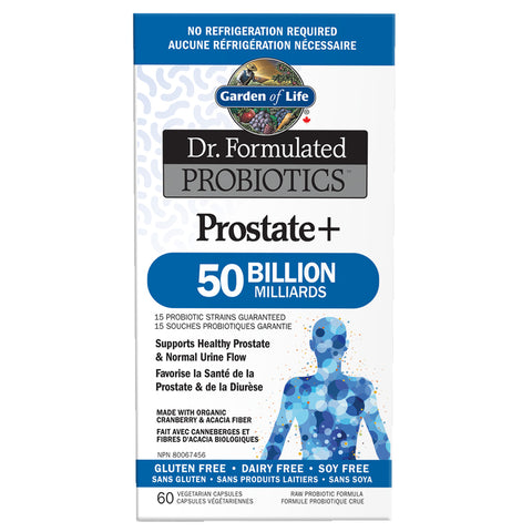 Garden Of Life Dr. Formulated Probiotics Prostate + 50 Billion Shelf Stable