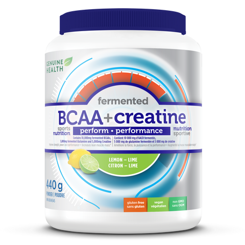 Genuine Health BCAA + Creatine 440g