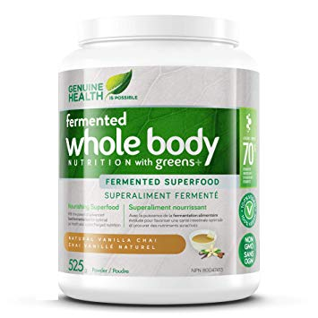 Genuine Health Fermented Whole Body Nutrition With Greens | Greens | Genuine Health