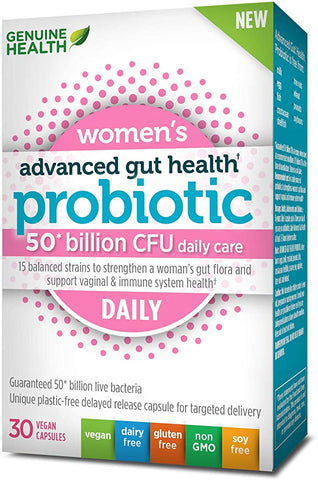 Genuine Health Women's Probiotic 50 Billion - Body Energy Club