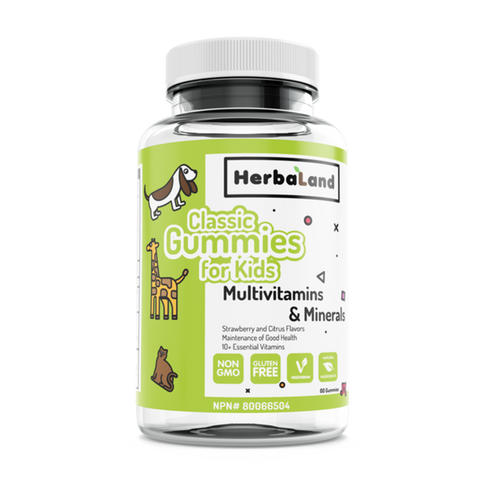 Herbaland Classic Gummies for Kids Multivitamin