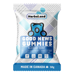 Herbaland Good News Gummies Clean Candy 50g Blueberry Burst  - Body Energy Club