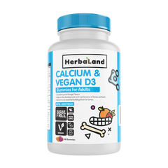 Herbaland Calcium & Vegan D3 Gummies - Body Energy Club