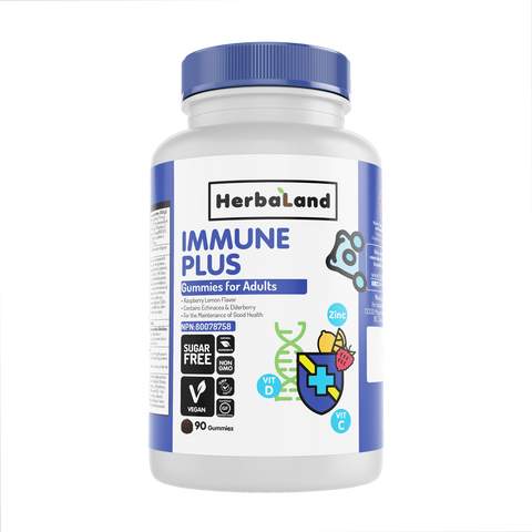 Herbaland Immune Plus Gummies Adult (Sugar Free)