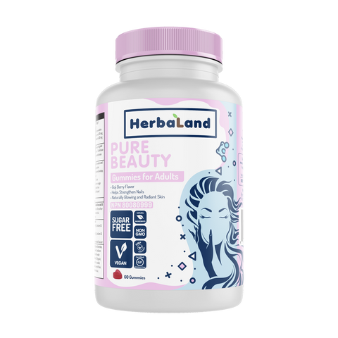 Herbaland Pure Beauty Gummies - Body Energy Club