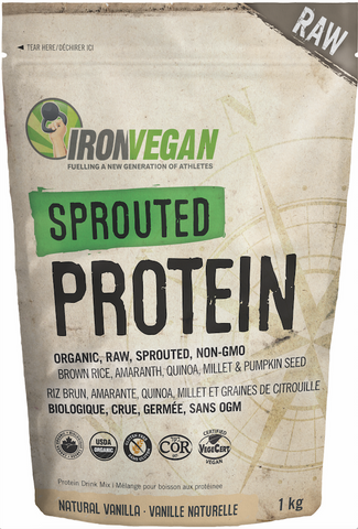 Iron Vegan Sprouted Protein 1kg | Vegetarian Protein | Iron Vegan