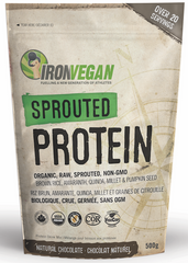 Iron Vegan Sprouted Protein 500g Chocolate
