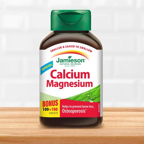 Jamieson Calcium Magnesium - Body Energy Club