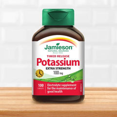Jamieson Potassium 100mg Timed Release