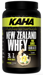 KAHA New Zealand Whey Isolate 840g | Whey Protein Isolate | Ergogenics Nutrition
