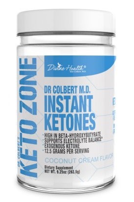 Keto Zone Instant Ketones - Body Energy Club