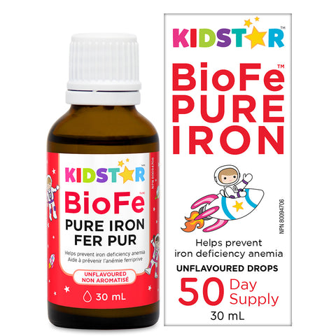 Kid Star | BioFe Pure Iron Drops | Body Energy Club