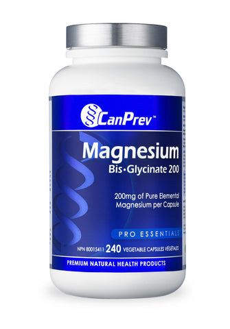 CanPrev Magnesium BisGlycinate Gentle 200 - Body Energy Club