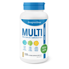 Progressive Active Men Multi Vitamin 120 veggie capsules