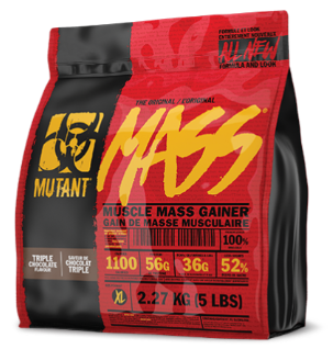 Mutant Mass 5lbs | Weight Gain Protein | Mutant | Triple Chocolate