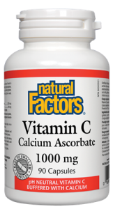 Natural Factors Vitamin C Calcium Absorbate 1000mg