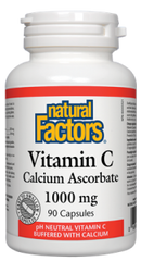 Natural Factors Vitamin C Calcium Ascorbate 1000mg | Vitamin C | Natural Factors