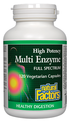 Natural Factors Multi Enzyme - Body Energy Club