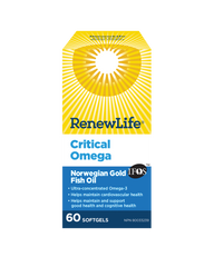 Renew Life Critical Omega | Heart & Circulatory Health | Renew Life