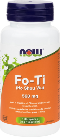 NOW Fo-Ti (Ho Shou Wu) 560mg Capsules | Women's Health | NOW Foods