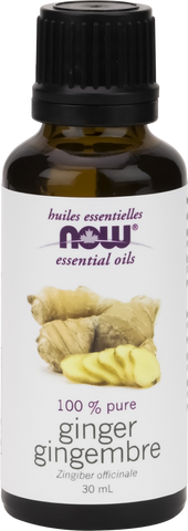 NOW Ginger Essential Oil - Body Energy Club