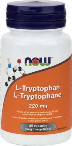 NOW L-Tryptophan 220mg