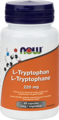 NOW L-Tryptophan 220mg - Body Energy Club