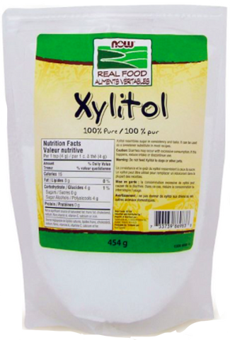 NOW Xylitol Powder | Stevia & Other Sweeteners | NOW Foods