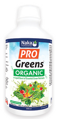 Naka Pro Greens Organic 500ml - Body Energy Club