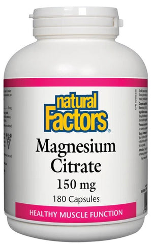 Natural Factors Magnesium Citrate