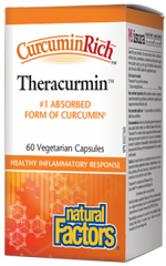 Natural Factors CurcurminRich Theracurmin 30mg | 60 Vegetarian Capsules