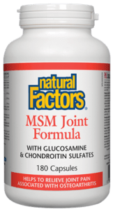 Natural Factors MSM Joint Formula - Body Energy Club