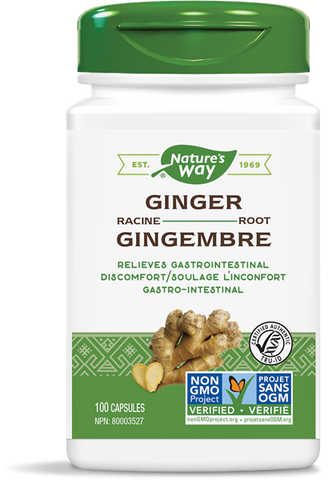Nature's Way Ginger Root 550mg - Body Energy Club