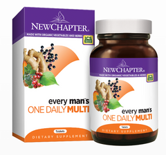 New Chapter Every Man's One Daily Multivitamin Tablets