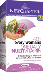 New Chapter Every Woman 40+ One Daily Multivitamin Tablets