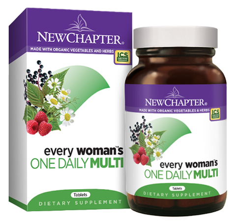 New Chapter Every Woman's One Daily Multivitamin | Women's Multivitamins | New Chapter