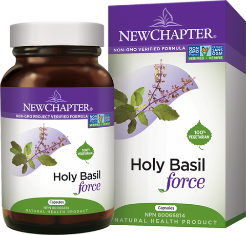 New Chapter Holy Basil Force | Herbs | New Chapter